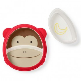 PLATO CON COMPARTIMENTOS SKIP HOP SMART SERVE - MONKEY