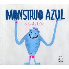 """LIBRO """"MONSTRUO AZUL"""" (MONSTRUO ROSA)"""