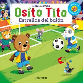 "LIBRO ""OSITO TITO: ESTRELLAS DEL BALÓN"""