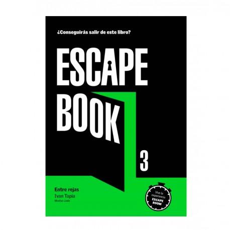 """LIBRO """"ESCAPE BOOK 3 - ENTRE REJAS"""""""