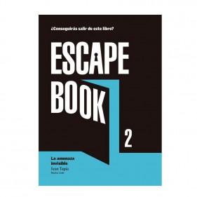 """LIBRO """"ESCAPE BOOK 2 - LA AMENAZA INVISIBLE"""""""