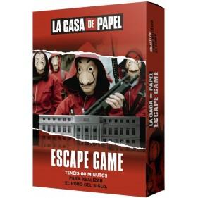 JUEGO LA CASA DE PAPEL: ESCAPE GAME