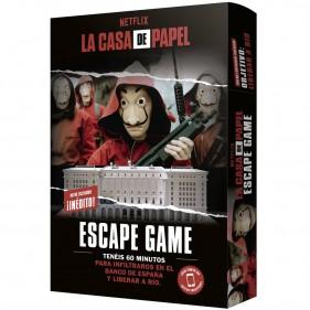 JUEGO LA CASA DE PAPEL: ESCAPE GAME 2