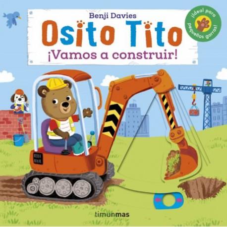 """LIBRO """"OSITO TITO: VAMOS A CONSTRUIR"""""""
