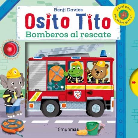 """LIBRO """"OSITO TITO: BOMBEROS AL RESCATE"""""""