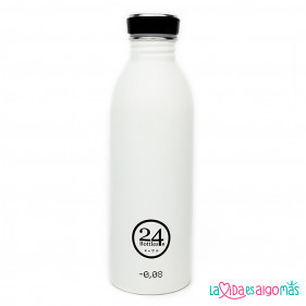 BOTELLA URBAN 24BOTTLES 500ML - BLANCA