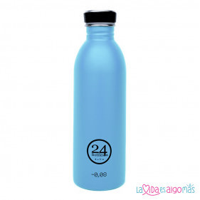 BOTELLA URBAN 24BOTTLES 500ML - AZUL LAGUNA