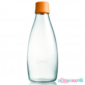 BOTELLA RETAP 800ML - NARANJA