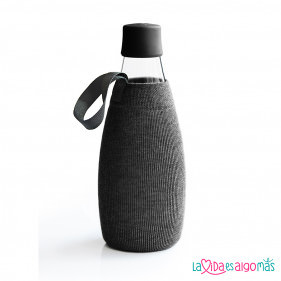 FUNDA BOTELLA RETAP 800ML - NEGRO
