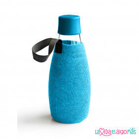 FUNDA BOTELLA RETAP 500ML - AZUL CLARO