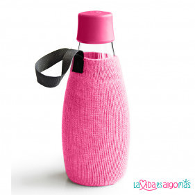 FUNDA BOTELLA RETAP 500ML - ROSA PASTEL