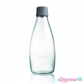 BOTELLA RETAP 800ML - GRIS