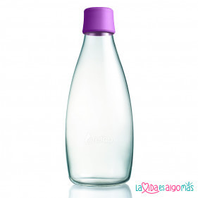 BOTELLA RETAP 800ML - MORADO