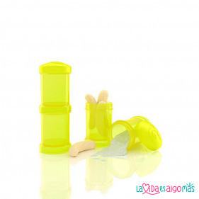 DOSIFICADOR TWISTSHAKE - AMARILLO 2 x 100 ML