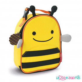 MOCHILA TÉRMICA MERIENDA SKIP HOP - ABEJA