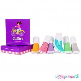 CALCETINES TRUMPETTE - CALLIE'S (6 PARES)