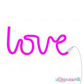 LUZ NEÓN LOVE - ROSA