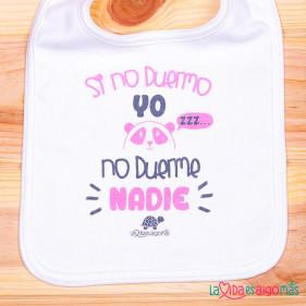 """BABERO """"SI NO DUERMO YO NO DUERME NADIE"""" - ROSA"""