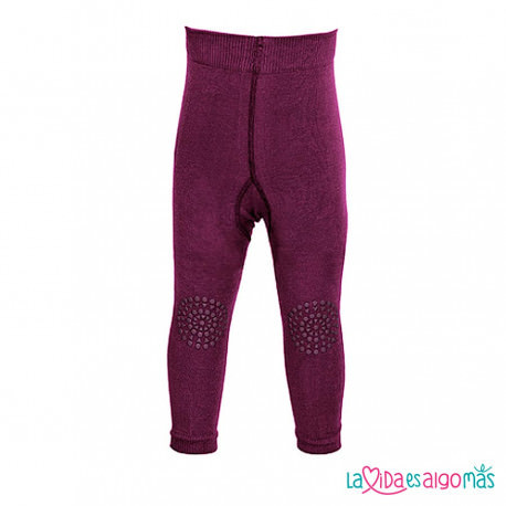 LEGGINS GATEO GO BABY GO - GRANATE