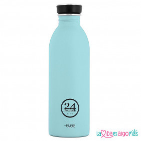 BOTELLA URBAN 24BOTTLES 500ML - AZUL PASTEL