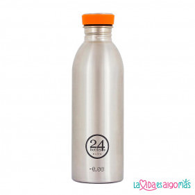 BOTELLA URBAN 24BOTTLES 500ML - ALUMINIO