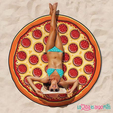 TOALLA GIGANTE PIZZA