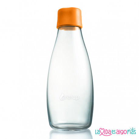 BOTELLA RETAP 500ML - NARANJA