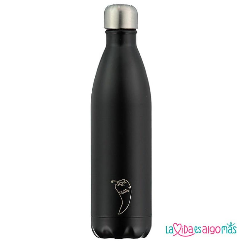 Chilly/'s botella Sport botella las bebidas botella botella Torrelaguna negro 260 ml