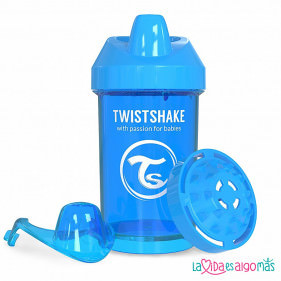 VASO ANTIDERRAME TWISTSHAKE 300ML 8+M - AZUL