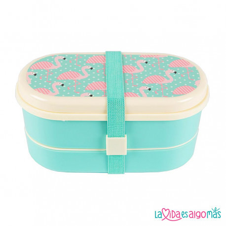 FIAMBRERA BENTO BOX - FLAMENCO