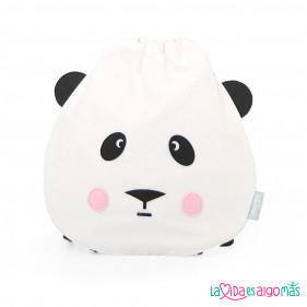 MOCHILA DE CUERDAS EEF LILLEMOR - PANDA LOVE
