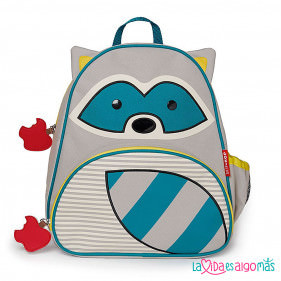 MOCHILA SKIP HOP - MAPACHE