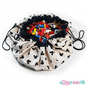 SACO PLAY & GO DISNEY - MICKEY BLACK