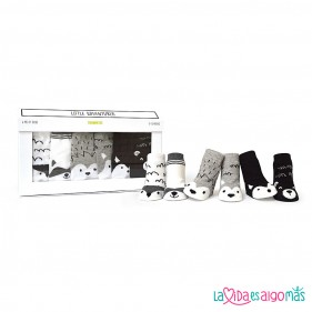 CALCETINES TRUMPETTE - LITTLE ADVENTURE'S (6 PARES)