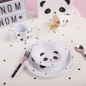 VAJILLA INFANTIL DE INICIACIÓN - PANDA