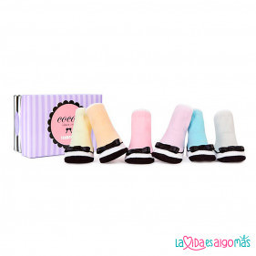 CALCETINES TRUMPETTE - COCO'S (6 PARES)