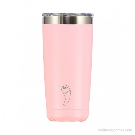 VASO ACERO INOXIDABLE CHILLY'S 500ML - ROSA