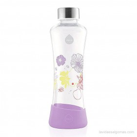 BOTELLA FLOWER EQUA 550ML - LILY