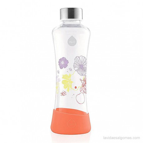 BOTELLA FLOWER EQUA 550ML - POPPY