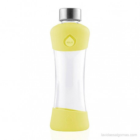 BOTELLA SQUEEZE ACTIVE EQUA 550ML - LEMON