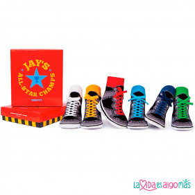 CALCETINES TRUMPETTE - JAY'S (6 PARES)