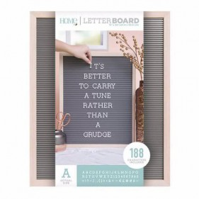 LETTER BOARD 40 X 50 CM - MARCO MADERA INTERIOR GRIS