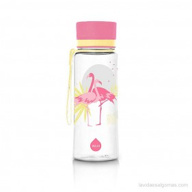 BOTELLA TRITÁN EQUA 600ML - FLAMINGO