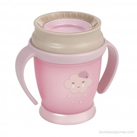 TAZA 360 LOVI RETRO GIRL MINI 210 ML