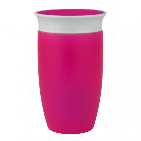 TAZA ANTIGOTEO MIRACLE 360 295ML - ROSA
