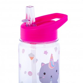 BOTELLA REUTILIZABLE INFANTIL 400ML - GATICORNIO