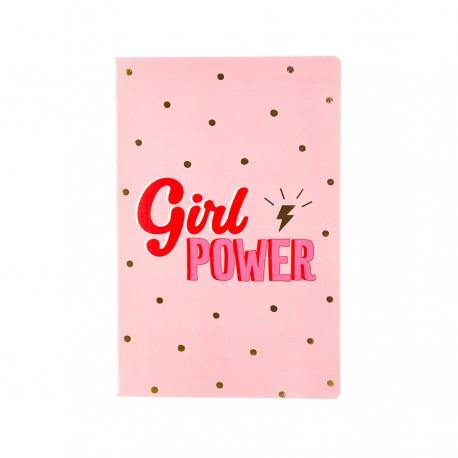 LIBRETA A5 - GIRL POWER