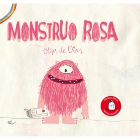 """LIBRO """"MONSTRUO ROSA"""""""