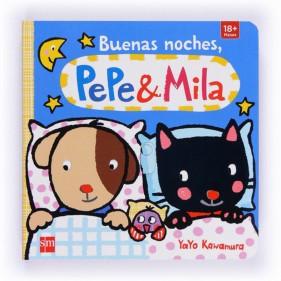 BUENAS NOCHES PEPE & MILA + MUÑECO MILA