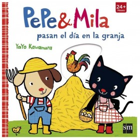 PEPE & MILA PASAN EL DÍA EN LA GRANJA + MUÑECO PEPE